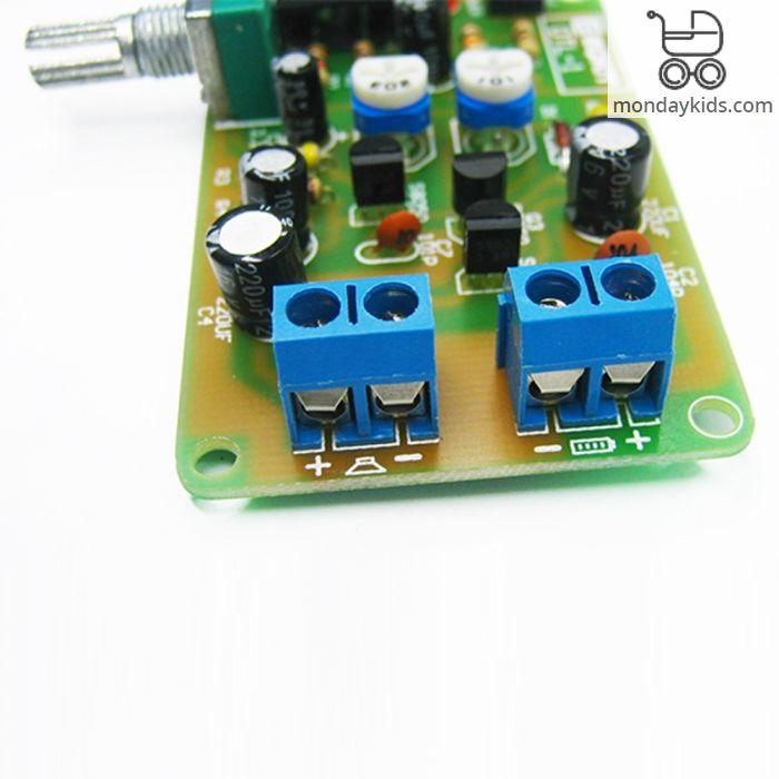Monday Kids OTL-1 Power Amplifier Circuit DIY Kit High Sensitivity OTL  Discrete Component Amplifier Suite for Exercise welding skills