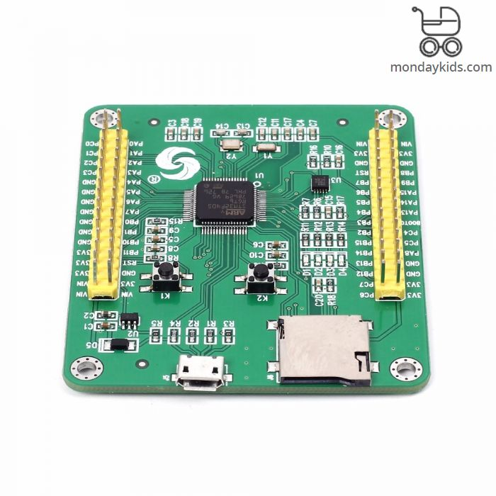Monday Kids STM32 STM32F405RGT6 Core Board For MicroPython Development  Board for Pyboard Python Learning Module STM32F405 with Full IOs