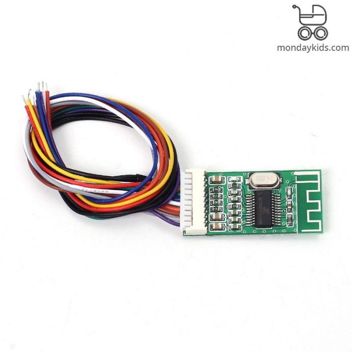 Monday Kids KCX_BT002 Bluetooth Audio Receiver Board Bluetooth Module  Lossless Bluetooth 4 2 Wireless MP3 Decode Board MP3 Module