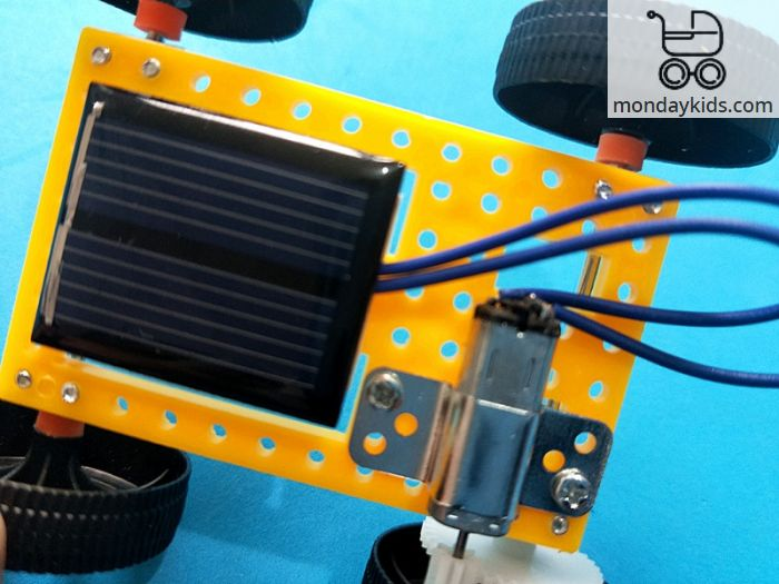 Monday Kids Diy Science Toys For Kids Mini Solar Panel Powered Car Kit Education Return Gifts For Birthday Party Boys Creative