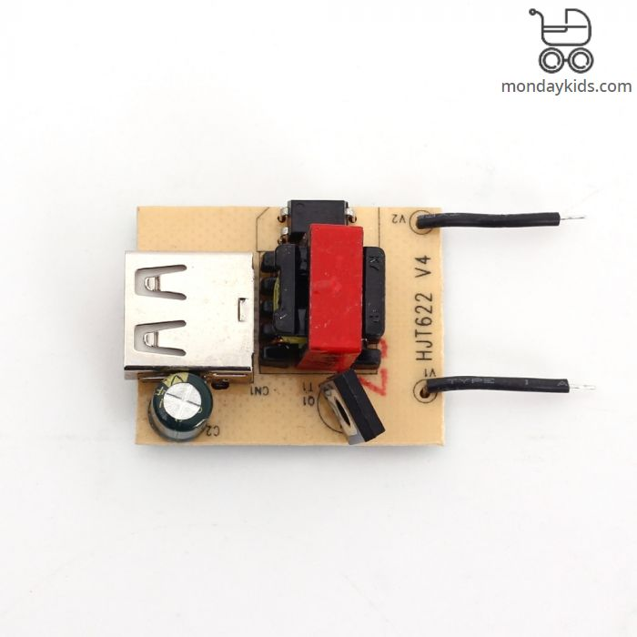 Monday Kids USB DC Step Down Module Isolated Power Supply Buck Converter  Stabilizer 12V 24V 36V 48V 72V to 5V 1A