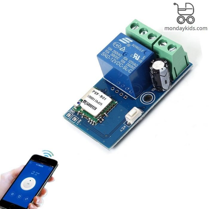 Welcome for Visiting - Monday Kids DC 12V Wireless Wifi Relay Switch