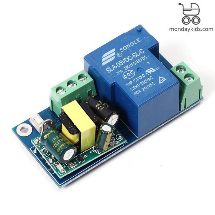 Monday Kids AC 220V WIFI Relay Switch Module High Power Self-lock Mode  Phone Remote Timer Control For Wireless Android IOS Smart Home