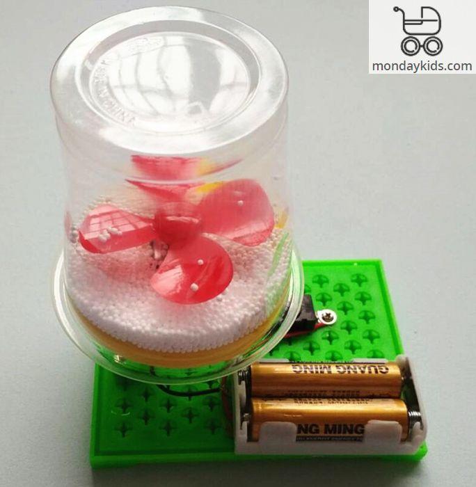 Monday Kids 5 sets/lot Kids diy Science Toys Experiments Reptile Robot  Assemble Physics Models Kit Creative Educational Gift Boy