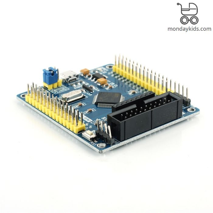Monday Kids STM32F103RBT6 Minimum System Board MCU STM32 Development Board  128K FLASH 20K RAM Core Board (LCD Screen not Include)
