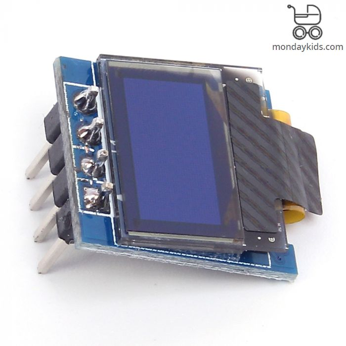 Monday Kids White 0 49 inch OLED Display Module 64x32 0 49