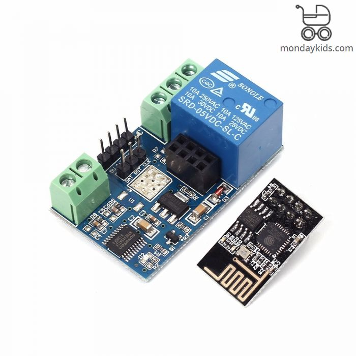 Monday Kids ESP8266 5V Wifi Relay Module Remote Control Switch Phone APP  For Smart Home IOT Transmission Distance 400m