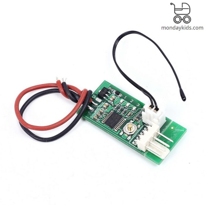 Monday Kids DC 12V PWM Temperature Controller Fan Controller 4-Wire  Temperature Fan Speed Controller Governor for PC Fan/Alarm STK IC