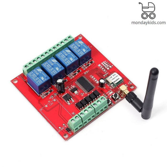 Monday Kids DC 9-38V Wifi Relay Switch Multi-Channel Mobile Phone Remote  Control Network Relay Module With Antenna Wireless Smart Home wk4