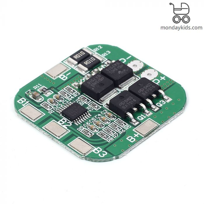 Monday Kids 10A 14 8V 16 8V 4S 18650 Li-ion Lithium Battery Charger Board  Charger Module+Protection BMS Protection Board Module Electronic