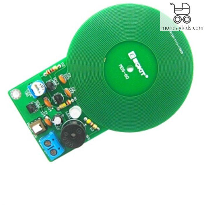 Monday Kids DIY Kit Metal Detector Kit Electronic Kit DC 3V-5V 60mm  Non-contact Sensor Board Module DIY Electronic Part Metal Detector