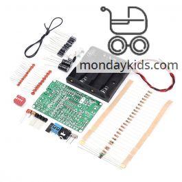Monday Kids 87-108MHz FM Frequency Modulation Wireless Microphone Module  DIY FM Transmitter Board Parts Stereo FM Transmitter Module DC 4-6V