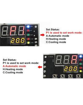 Monday Kids XH-W1504 TEC Semiconductor Cooler Thermostat Automatic Constant  Temperature Controller Bit control Module