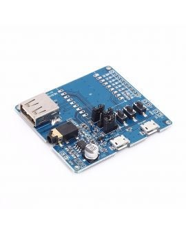 Audio & Video Replacement Parts Multifunctional Mp3 Audio Module With 4 Button Trigger Inputs Programmable Sound Module Music Player Module With Built-in Memory