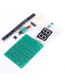 Monday Kids DIY Kits 30 to 60 Seconds Counter Suite 2 Digit 30-60s Timer  Simple Stopwatch Digital Electronic Practical Training Part