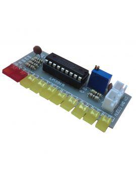 Monday Kids LM3915 Audio Level Indicator DIY Kit 10 LED Sound Audio  Spectrum Analyzer Level Indicator Kit Electoronics Soldering Set