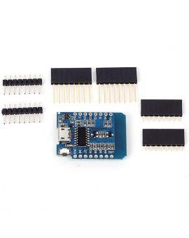 Monday Kids ESP8266 ESP-12 ESP-12F CH340G CH340 V2 USB WeMos Mini D1 4M  WIFI Development Board D1 Mini NodeMCU Lua IOT Board 3 3V With Pins
