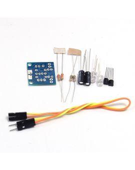 Monday Kids 3pcs/lot DIY Kit Simple Flash LED Light Circuit Simple flashing  Leds Circuit Board Kits 5MM LED Electronic Production Suite Part
