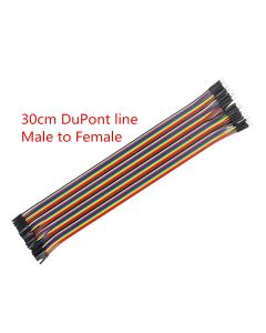 Monday Kids 30cm Male to Male + Male to Female and Female to Female DuPont Cable Line Jumper Connector Breadboard for arduino Diy Kit