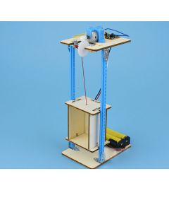 Monday Kids STEM Education - DIY Wooden Elevator for Kids to Demonstrate the Working Principle of Elevator