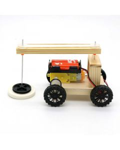 Sweeping Car for Kids Made with DIY Kits
