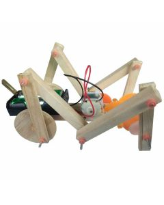 DIY Multi Linkage Structure Robot Grasshopper for Kids