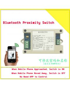 [Upgraded Version] Monday Kids Wireless Bluetooth Proximity Switch Mobile Phone Bluetooth Control Switch Sensor Induction Module For Android Phone and iPhone