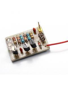 Monday Kids Mobile Phone Signal Flash Light DIY Kit 3-12V Radiation Power Electronic DIY Kit Fun
