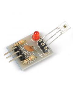 Monday Kids 1pc Laser Receiver Sensor Module Non-Modulator Tube Laser Sensor Module Relay Switch High Level Low Level for Arduino 5V