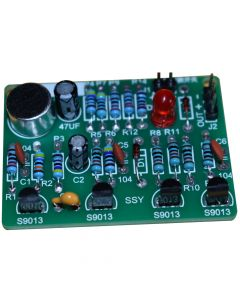 Monday Kids Analog Circuit Theory Learning Kits - Use Resistors Capacitors Transistors to Build a Sound Control Logic Circuit