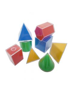 Monday Kids Geometry Math Helper Geometric Surface Area Expansion Model Cone Cylinder Pyramid Prism Cuboid Cube Geometric Shape Model