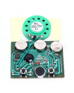 Monday Kids 30secs 30S Key Control Sound Voice Audio Recordable Recorder Module Chip Programmable Music Board For Greeting Card DIY Gifts