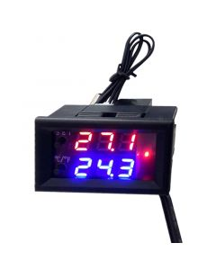 Monday Kids DC 12V Microcomputer Electronic Thermostat Temperature Controller Switch Adjustable Digital LED Display Intelligent