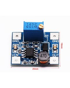 Monday Kids 5PCS DC 4.5-28V MP1584 Mini DC-DC Buck Converter Step-down Power Regulator Module 3A Output Adjustable Super Module