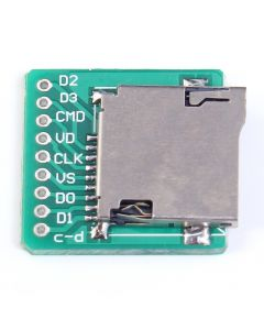 Monday Kids 5pcs/lot TF Card Micro SD Card Adapter Board Memory Card Interface Pinboard Module 20x20mm 2mm Ultra-small