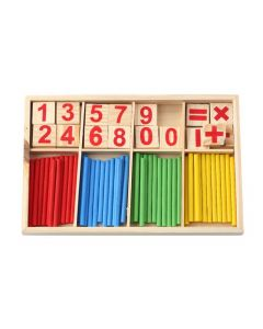 Monday Kids Intelligence Development Great Toys Montessori Math Wooden Material Color Calculation Early Education Enlightenment Toy