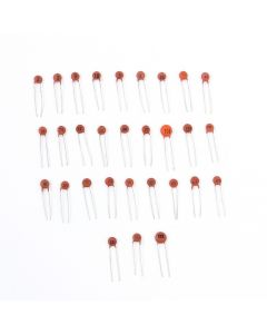 Monday Kids 300pcs 30 Values X10pcs Ceramic Capacitor Set 2PF-0.1UF Capacitor Assortment Kit DIY