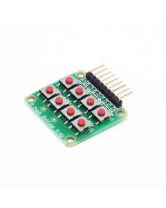 Monday Kids 10pcs/lot 2x4 4x2 Keypad 8 Key Board Matrix Keyboard Button for Arduino AVR PIC