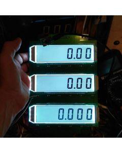 Monday Kids Reflection ED139 6 Digit 7 Segment LCD Display Screen Static Driving TN Positive Display 5V 137.16 x 46.38 x 2.8mm