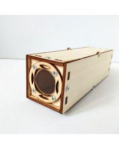 Monday Kids Kid Science Kit Toy Periscope DIY Telescope Observation Optics Experiment Set School Physics Scientific Games Assembly