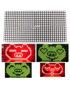 Monday Kids 16x32 Dot Matrix Control Display Module DIY Kit Dual-Color Red Green Electronic Fun Kit