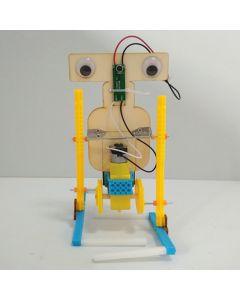 Monday Kids 2019 New Voice Control DIY Electric Assemble Walking Robot Kit STEM Education Science Experiments Toys Invention Kids
