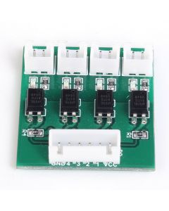Monday Kids 4 Channel Optocoupler Isolation Module H/L Level Converter Module MCU IO Isolated High Low Level Conversion Board