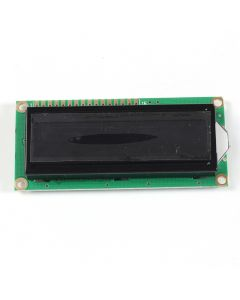 Monday Kids LCD1602A 16x2 White Screen Character Dot Matrix 1602 Blacklight LCD Display Module Black Background Parallel Port