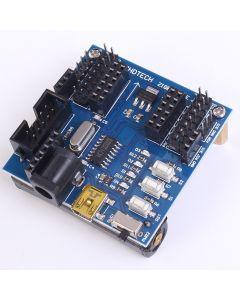 Monday Kids ZigBee CC2530 Sensor Node Baseboard Functional Module Expansion Board USB Port 24MHz 256KB