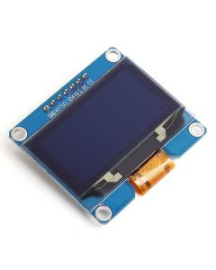 "Monday Kids 1.54"" 1.54 inch White OLED Display Module 128x64 SPI IIC I2C Interface OLED Screen Board 3.3-5V UART"