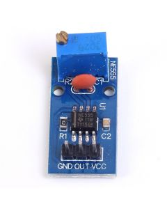 Monday Kids 5 pcs/lot NE555 Pulse Generator Module Frequency Adjustable 5-12V 29x12mm