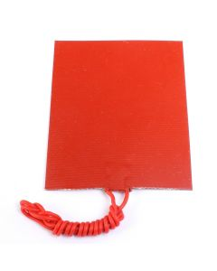 Monday Kids 80mmx100mm 12V 25W Silicone Rubber Heating Panel Constant Temperature Heater Plate