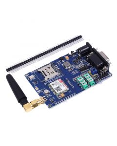 Monday Kids SIM800C Development Board Module Support GSM GPRS 3.3/5V TTL For Arduino & Active Ceramic Antenna IPEX Interface