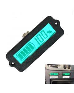 Monday Kids 12V LY6W Lead Acid LiPo Battery Capacity Indicator LCD Display Battery Capacity Meter Power Detect Digital IC Tester Voltmeter